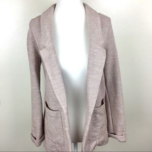 Topshop Light Pink Blazer